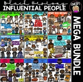 Black History~Influential People Clip Art Mega Bundle {Educlips Clipart}