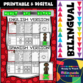 """Black History - Influential People - Henry """"Box"""" Brown (Bilingual Set)"""