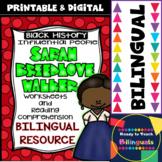 Black History - Influential People - Sarah Breedlove Walker (Bilingual Set)