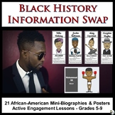 Black History Information Swap: 21 African-American Mini-B