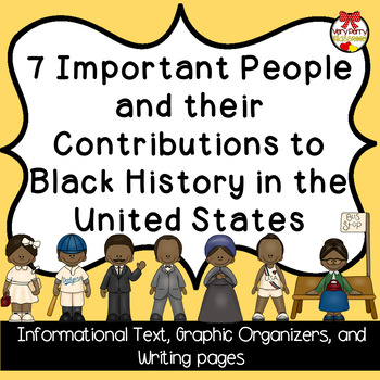 Black History Informational Text Close Read and Writing