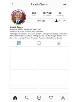 Black History Instagram Profile - Barack Obama