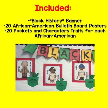 Black History Interactive Bulletin Board