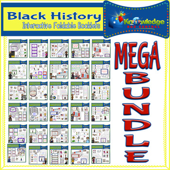 Black History Interactive Foldables MEGA Bundle