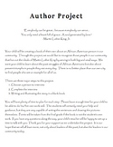 Black History Interview and Author Project