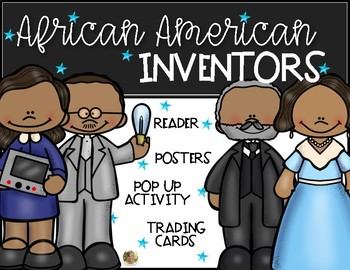Black History Inventors African American Inventions Kindergarten and First