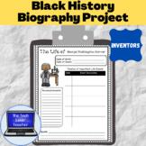 Black History Inventors Biography Project