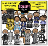 Black History ~ Inventors Clip Art Set {Educlips Clipart}