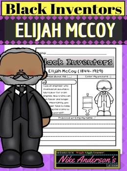 Black History Inventors   Elijah McCoy