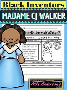 Black History Inventors | Madame C.J. Walker