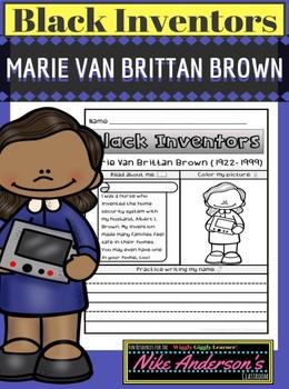 Black History Inventors | Marie Van Brittan Brown