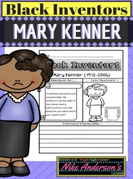 Black History Inventors   Mary Kenner