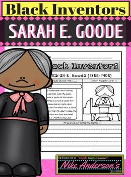 Black History Inventors   Sarah E. Goode