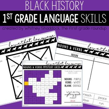 Black History Month Language & Grammar Worksheets