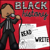 Black History Leaders Letter Writing