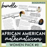 Black History Leaders  Math Women Pack #2