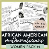 Black History Leaders - Mathematician Women Pack #1 - Biog