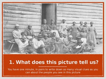 Black History Lesson Starters PowerPoint