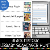 Black History Library Scavenger Hunt