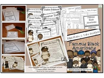 Black History-- Make & Take Booklets