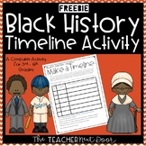 Black History Make a Timeline Computer Activity | Black History Activity