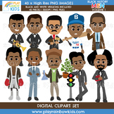 Black History Men Clipart Volume 1