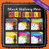 Black History Men Mega Bundle | Printable Worksheets | Black History Month
