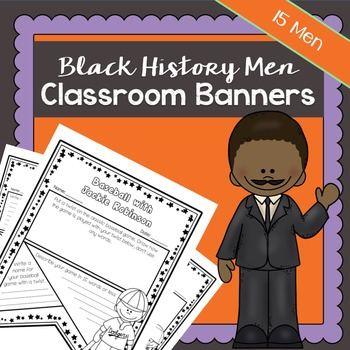 Black History Men Mega Bundle | Printable Worksheets | Black History Month