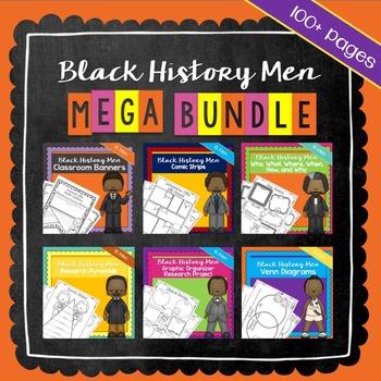 Black History Month Activities Men of Black History