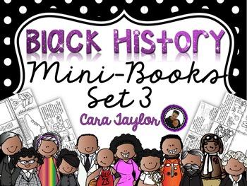 Black History Mini Foldable Books Deluxe Set 3