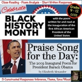 Black History Month : Poetry : Praise Song For The Day Inaugural Poem: No Prep!