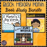 Black History Month Book Studies (Martin's Big Words, Rosa & Ruby Bridges)