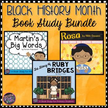 Black History Month Book Studies (Martin's Big Words, Rosa & Ruby Bridges)