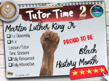 Black History Month : 1 Assembly & 4 x Tutor Time sessions