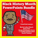 Black History Month PowerPoints   BUNDLE