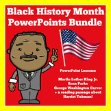 Black History Month Activities | PowerPoints