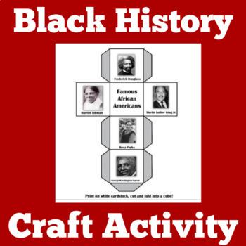 Black History Month Craft | Black History Month Activity