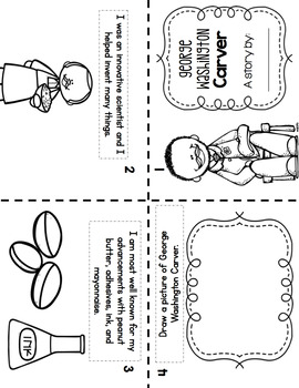 Black History Month Activities - Foldable Books