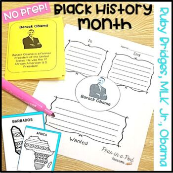 Martin Luther King Jr and Black History Month Activities