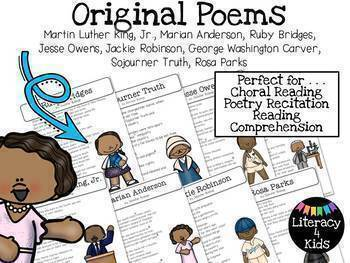 Black History Month Poetry Pack