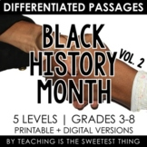 Black History Month: Passages (Vol. 2) - Distance Learning Compatible