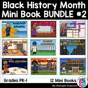 Black History Month #2 Mini Book Bundle for Early Learners
