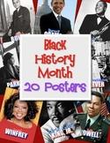 Black History Month - 20 Posters (African American Studies)