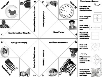 Black History Month Foldable Activity