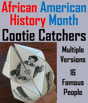 African American History Activity Foldable