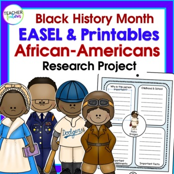 FAMOUS AFRICAN AMERICANS Black History Month