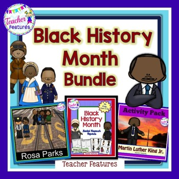 FAMOUS AFRICAN AMERICANS BUNDLE Black History Month