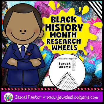 Black History Month Activities (Black History Month Research Project)