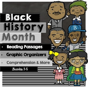 Black History Month Activities: Reading Passages and Writing Activities