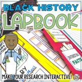 Black History Lapbook Activity: Black History Biography Report and Research